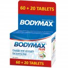 Bodymax Plus Vitamin Complex with Korean Ginseng Extract 80 Tablets Supplement