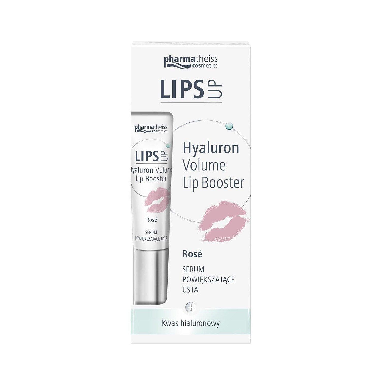 Pharmatheiss Lip Up Lips Booster Filler Plumper Hyaluronic Acid Balm Serum ROSE 7ml