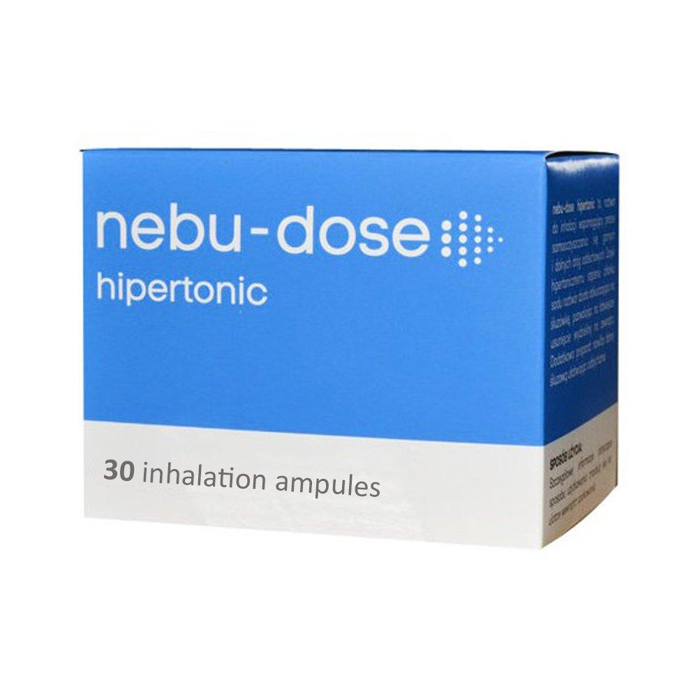 Nebu-Dose Hypertonic Inhalation Inhaler Fluid Saline Solution 30 x 5ml Ampules