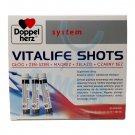 Doppelherz Vitalife Shots Hawthorn Ginseng Magnesium Iron 30 x 25ml (750ml)