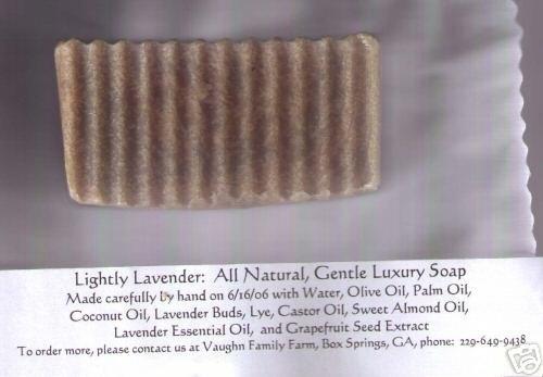 TERI'S HANDMADE SOAP / LAVENDER