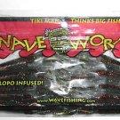 "WAVE WORMs TIKI-Grass Craws BAITs LURE 3"" WatermelonRed NEW"