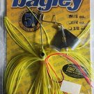 Bagley Buzz Bait Lure Spinner-Bait Bass Pike Lure Chart/Yellow 1/8oz Fishing NEW