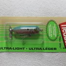 Heddon Tiny Torpedo Lure Gray Blue Shad Bass Pan Trout Fishing Bait Tackle NEW!!