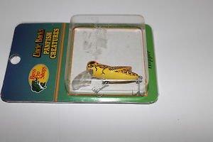 Uncle Bucks Lure Pan-Fish Creatures Crankbait UB Hopper Fishing BrwnYel Lure NEW