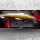 2 Matzuo Phantom Minnows Fishing Lures Baits Gold Black NIP Greatbass LowShp