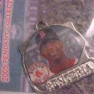 BOSTON RED SOX Edgar Renteria 2005 Pendant Charm Baseball MLB Player NEW IP