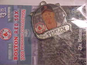 BOSTON RED SOX #50 Mike Timlin 2005 pendant Charm NEW in Pkg Wow*