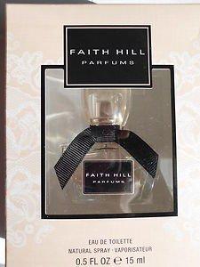 Faith Hill By Coty Perfume Womens Cologne Spray Fragrance Perfume .5oz NEW INBox
