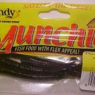 "Lindy Munchies Soft Baits Lures 3"" Worms Green Pumpkin NEW @ Greatbass"