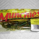 """Lindy Munchies Baits Lures 2.5"""" Bitty Craw Toob 6 Pepper Green NEW @ Greatbass"""