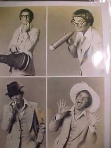 Vintage Rich Little Real TV Press Photos Promo Star Old Photograph LOOK Nice
