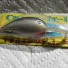 "New Old Luck E Strike Lure Crank-Bait Shad Pike Bait 4"" Blk Greatbass NIP"