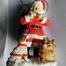 Dale Earnhardt Jr NASCAR #8 Racing Collectible Christmas Tree Santa Ornament NIB