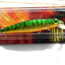 "BLAZE Lure 3"" Green Tiger Shad Crank Bait Minnow GR8 Bass Bait NiP"