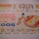 Vintage Egg Carton Box Paper Crate Egg-cel Cardboard One Dozen Graphics LowShip*