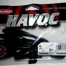 "Berkley Havoc SubWoofer Creature Baits Lures 4"" June Bug Red Fleck GR84Bass NEW"
