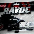 "Berkley Havoc SubWoofer Creature Baits Lures 4"" June Bug Red Fleck NEW"