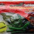 "Kangaroo Soft Baits Lures 6"" Green Crawdads Bass Fishing NeW"