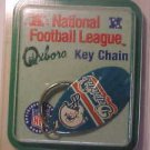 Florida OxBoro Miami Dolphins Key-Chain Ring Fob NFL Football NEW
