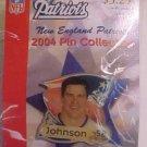 Ted Johnson 52 New England Patriots 2004 Pin Lapel Football-NFL NiP