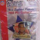 Richard Seymour 93 New England Patriots 2004 Pin Lapel Football NFL NEW