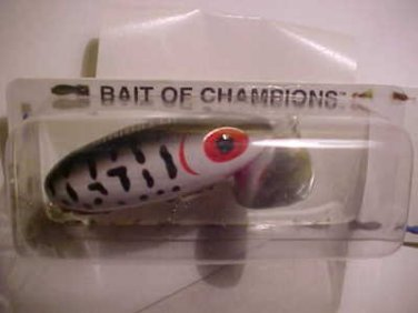 "Arbogast Jitterbug Lure Wounded Coach Dog 1/4oz Bass Fishing 2"" Bait Tackle NEW"