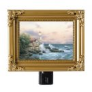 "Thomas Kinkade NightLight ""Beacon of Hope"" 5""x4"" Painting Of Light A GR8 GiftNEW"