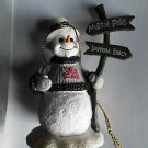 Kevin Harvick NASCAR 29 GM Goodwrench Racing Snowman Christmas Tree Ornament NEW