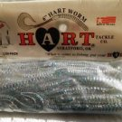 """HART Soft Worms Baits Lures 6"""" Curl Tail Xmas Tree New Old Stock"""