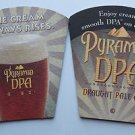 4 Pyramid DPA Beer Bier Bar Coasters Can Mats Ale NEW