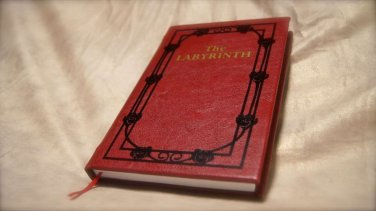 The Labyrinth � Sarah�s Book Leatherbound Book Replica Collector�s Edition