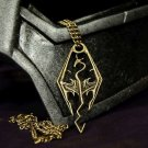 Skyrim Dragonborn Dovahkiin Pendant of the Imperial Legion (Gold Color)