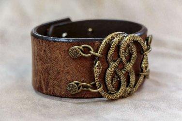 Neverending Story Auryn Bracelet Leather Cuff
