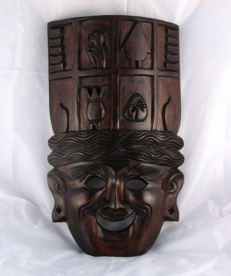Banaue Harvest Wood Mask
