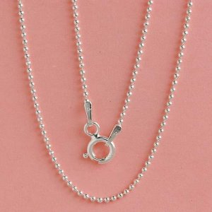 Elegant Dainty Solid Sterling Silver Neclace