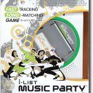 HASBRO I-LIST MUSIC PARTY GAME FOR UP TO 4 MP3 PLAYERS