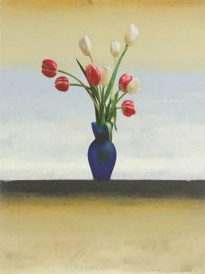 Tulips of the Window Sill