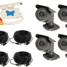 4 Channel Wired USB DVR Surveillance System - CS-USB4CH