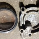 1981-1983 Kawasaki KZ440 KZ 440 Oil Pump Cover and Filter Screen