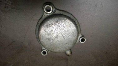 81 Yamaha SR250 Exciter TT250 XT250 Oil Element Filter Cover OEM 2J2-13447-00-00