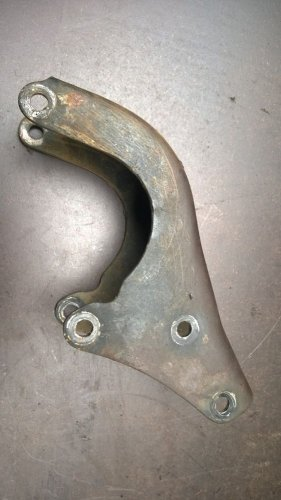 1981 Yamaha SR 250 SR250 Engine Motor Top Front Mount Bracket