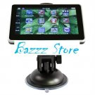 4.3 inch GPS touch screen + free map
