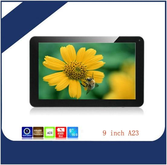 Tablet pc 9 inc Android 4.2 Dual Core 1.5Ghz Dual Camera Wifi 512MB/8GB