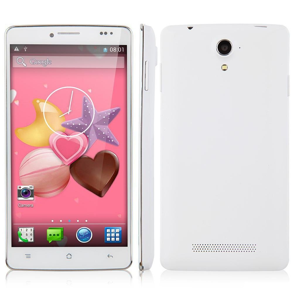 "SmartPhone Mpie MP707 5.0"" IPS MTK6582 Quad Core 1GB 8MP 3G Android 4.3 GPS WIFI"