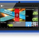 Tablet PC Q88 Allwinner A13 Android 4.0 512MB 4GB Dual Camera WIFI Blue color