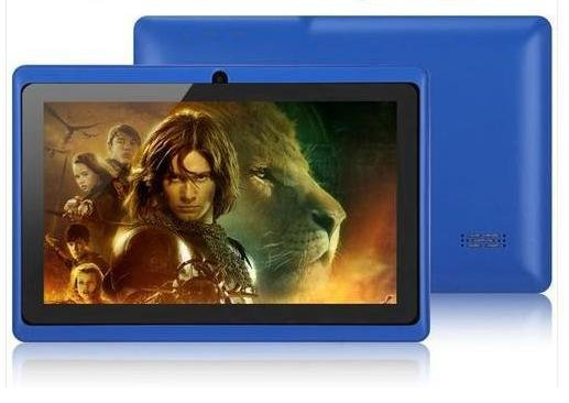 Tablet PC Q88 Allwinner A13 Android 4.0 512MB 4GB Single Camera WIFI Blue color