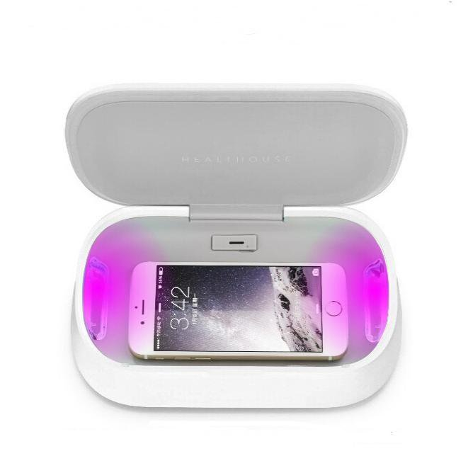 Easycare Multifunctional,UV Light Phone Sterilizer,Aromatherapy,wifi Charger,Disinfector