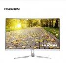 "HUGON 32 Inch 32"" LCD Curved Screen Monitor PC 75Hz 1920×1080p HD Gaming Display VGA HDMI"