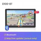 "Junsun D100 Bluetooth 7"" HD Car GPS Navigation free map FM AVIN Navitel Truck navigators automobile"